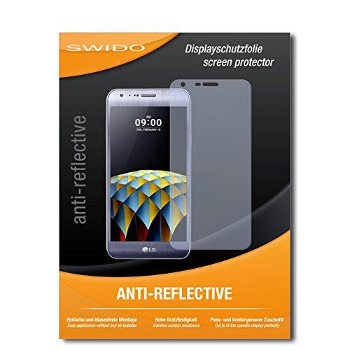 SWIDO Bildschirmschutz für LG X Cam [4 Stück] Anti-Reflex MATT Entspiegelnd, Hoher Festigkeitgrad, Schutz vor Kratzer/Glasfolie, Schutzfolie, Bildschirmschutzfolie, Panzerglas Folie