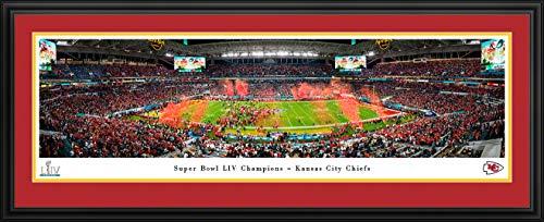 NFL Super Bowl LIV Champions - Kansas City Chiefs - covid 19 (Double Framed Photograph coronavirus)