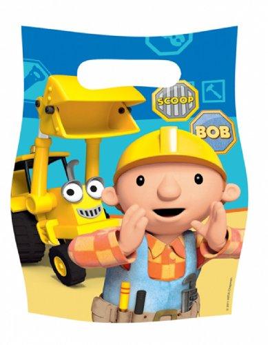 amscan Bob The Builder 6 131