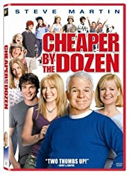 Cheaper by the Dozen DVD