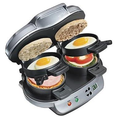 Hamilton Beach 25490 Dual Breakfast Sandwich Maker