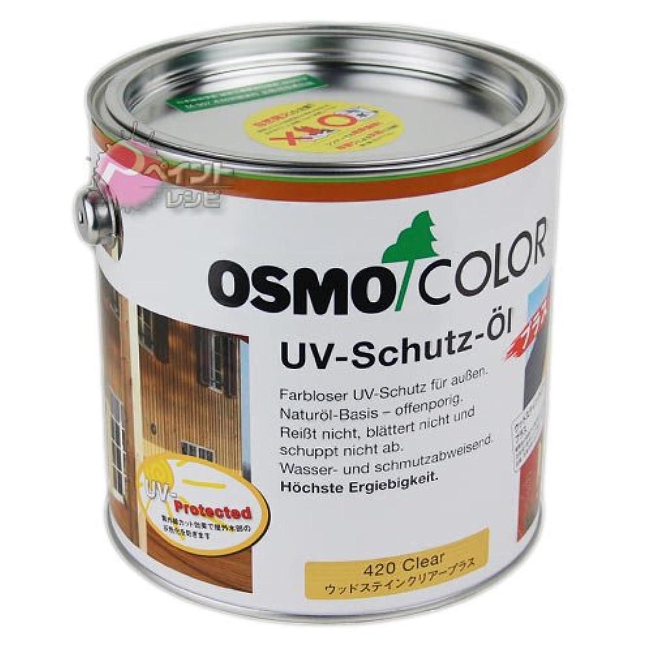 スケルトンスペード頑固なオスモ オスモカラー ウッドステインクリアープラス(外装用)#420 10L