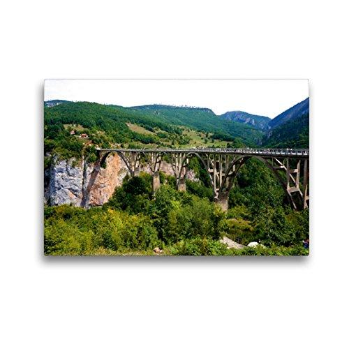 Calvendo Un Puente de Arco sobrepasa la Trampa de la Tara, 45x30 cm