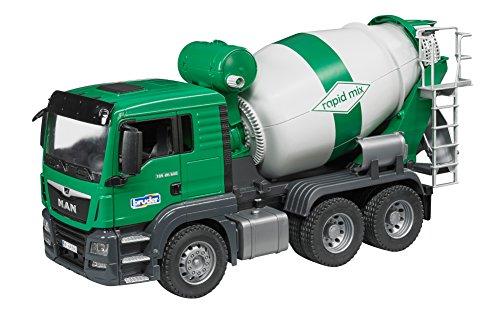 Bruder 03710 Man Tgs Cement Mixer Truck Vehicle