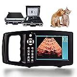 Scanner a ultrasuoni portatile per animali,kit per scanner a ultrasuoni veterinario,schermo a colori ad alta definizione da 5,6 pollici,per conigli,asini,maiali,pecore,cavalli e altri animali