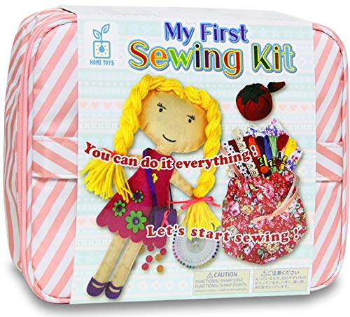 手作りキット ソーイングセット 【 マイファーストソーイングキット 】 はじめての 裁縫セット 小学生 女の子 プレゼント かわいい ケース付き