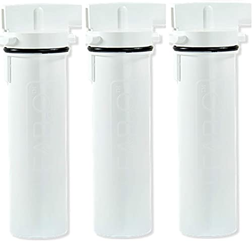 Clear2o Replacement Water Filter made with Solid Carbon Block Filtration Technology (3-Pack),