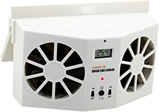 Tootu Solar Powered Car Window Air Vent Ventilator Mini Air Conditioner Cool Fan NEW