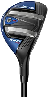 Cobra Golf 2019 F9 Speedback One Length Hybrid, Satin Black/Blue, Right Hand, Regular, 19.0 Degrees