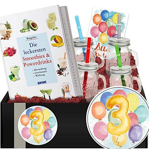 Geschenkidee 3. Jubiläum - Geschenkbox Gesundheit - Geschenk zum 3ten Jahrestag
