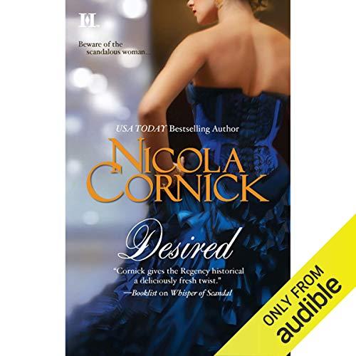 Desired audiobook cover art