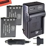 BM Premium 2-Pack Of LI-42B Batteries and...
