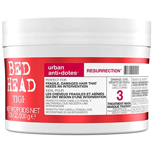TIGI Bed Head Urban Antidotes Resurrection Hair Mask for Damaged Hair, 200 g