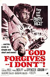 God Forgives - I Don't Poster Movie 11x17 Terence Hill Frank Wolff Bud Spencer Gina Rovere