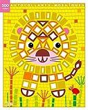 500 autocollants mosaïques brillants: Le lion - Dès 3 ans
