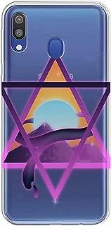Kılıfland Samsung Galaxy A30 Kılıf A305F Silikon Resimli Kapak Psychedelics Triangle -Stok 558