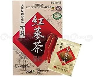 [1807] KGNF 高麗紅参茶 粉末茶 1箱(3g×50個) 韓国産 [並行輸入品]