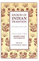 Sources of Indian Tradition (Introduction to Oriental Civilizations)