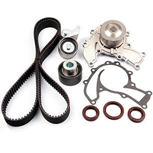 Engine Timing Part Belt Set Timing Belt Kits, SCITOO fit Acura SLX Honda Isuzu Rodeo Trooper 3.2L 1992-1997 Replacement Timing Tools with Water Pump 6VD1
