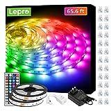 Best Led Strip Lights - Lepro 65.6ft LED Strip Lights, Ultra-Long RGB 5050 Review