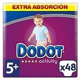 Dodot - Pañales Activity Extra t-5, 12 a 17 kg, 48 unidades