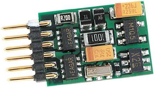 Fleischmann 6858 - DCC-Decoder mit integriertem 6-poligem Stecker ohne Litzen 600 mA