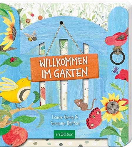 Willkommen im Garten (Libro de cartón)