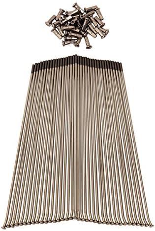 Protrax Pt1091 Stainless Steel Spoke Set Rear Bombing new work Sales for sale 19