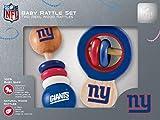 NFL New York Giants Baby Rattle Set - 2 Pack
