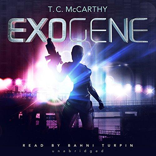 Exogene audiobook cover art
