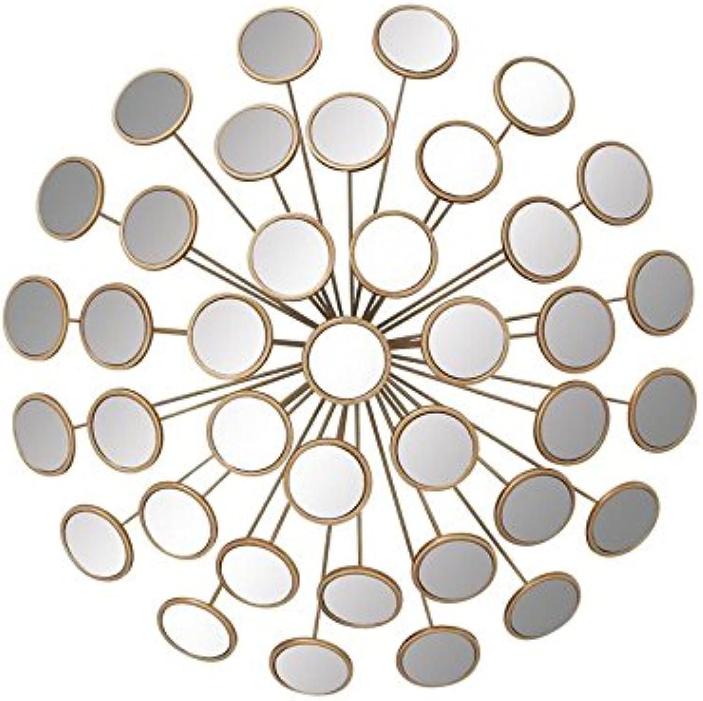 Deco 79 48652 Metal Mirror Wall Decor, 24