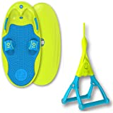 ZUP You Got This 1.0 Board and Handle Combo, All-in-One Kneeboard, Wakeboard, Wakeskate, and Wakesurf Board for All Ages, Blue
