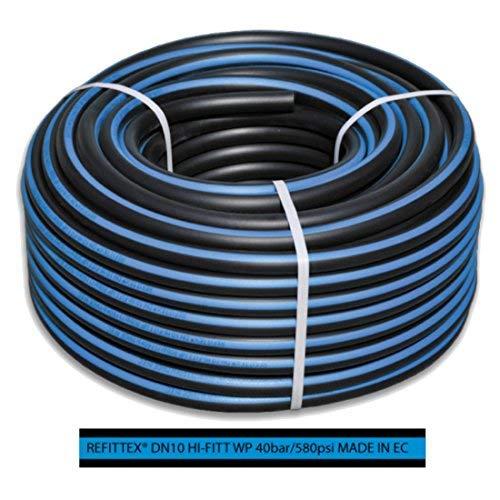 Bradas rh40162450 Tuyau refittex Pression 40 Bar, 16 x 24 mm/50 m, Noir, 30 x 30 x 20 CM