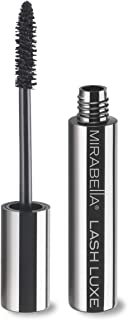 Mirabella Lash Luxe Black Mascara - Volume, Length and Curl to Lashes Without Clumping, 7g/0.25oz