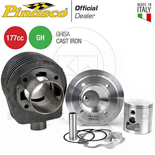 PINASCO KIT GRUPPO TERMICO 177cc CILINDRO Ø63 IN GHISA PIAGGIO VESPA PX 125 150 LML STAR 125 150 2T Art. 25030805
