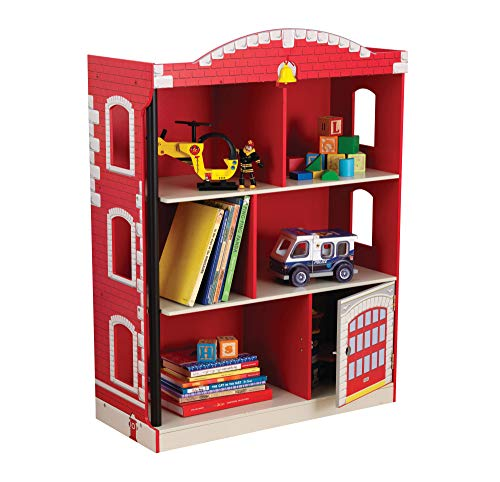 Firehouse Small Bookcase and Shelves