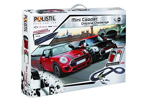 Polistil - Pista elettrica Mini Cooper