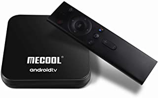 MECOOL KM9 PRO Google Certified The Real Android TV OS Android 9.0 Pie DDR4 4GB RAM 32GB ROM with Voice Search Remote Control Dual Band WiFi 2.4G 5G 4K UHD HDR OTA Supported