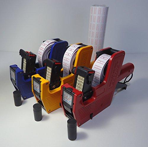 ハンド ラベラー 業務用 ラベル 10巻 インク 1個 セット プライス 賞味 消費 期限
