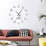 LIUXU Reloj de Pared de acrílico de Mono y orangután, Reloj de Cuarzo con diseño de Mono del Viejo Mundo, Regalo para niños