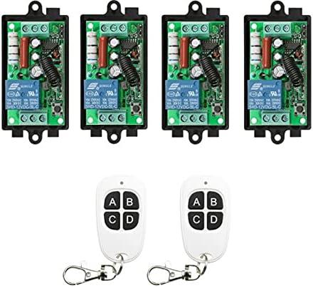 Davitu Remote Controls - AC 220 V Relay RF Wireless Remo low-pricing 1CH 10A unisex