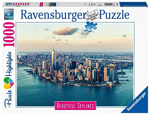 Ravensburger- New York Puzzle da Adulti, Multicolore, 1000 Pezzi, 14086