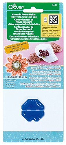 "Clover Kanzashi Flower Maker - Daisy Petal Extra Small Size 1.5"" Good Crafted Handmade Gift and DIY Ideas"