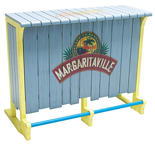 Margaritaville 4-Foot Indoor/Outdoor Escape to Paradise Wood Bar