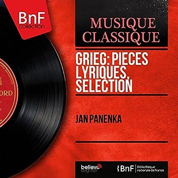Grieg: Pièces lyriques, sélection (Mono Version)