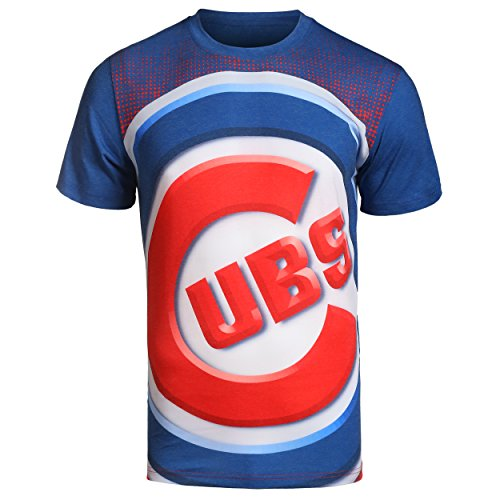 Chicago Cubs Big Logo Tee Triple Extra Large