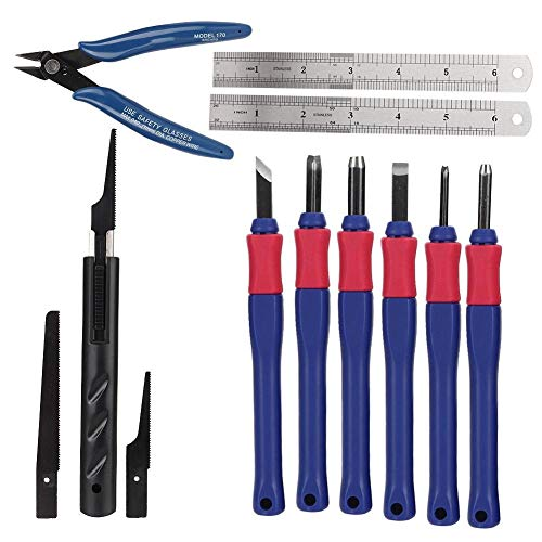 Delaman Strumenti di Stampa 3D Repair Tool Kit Professionali utili Tardo Manutenzione Serie Repair Tool Compatibile con CNC Macchina for incidere FDM Stampante 3D Accessori for la Stampa