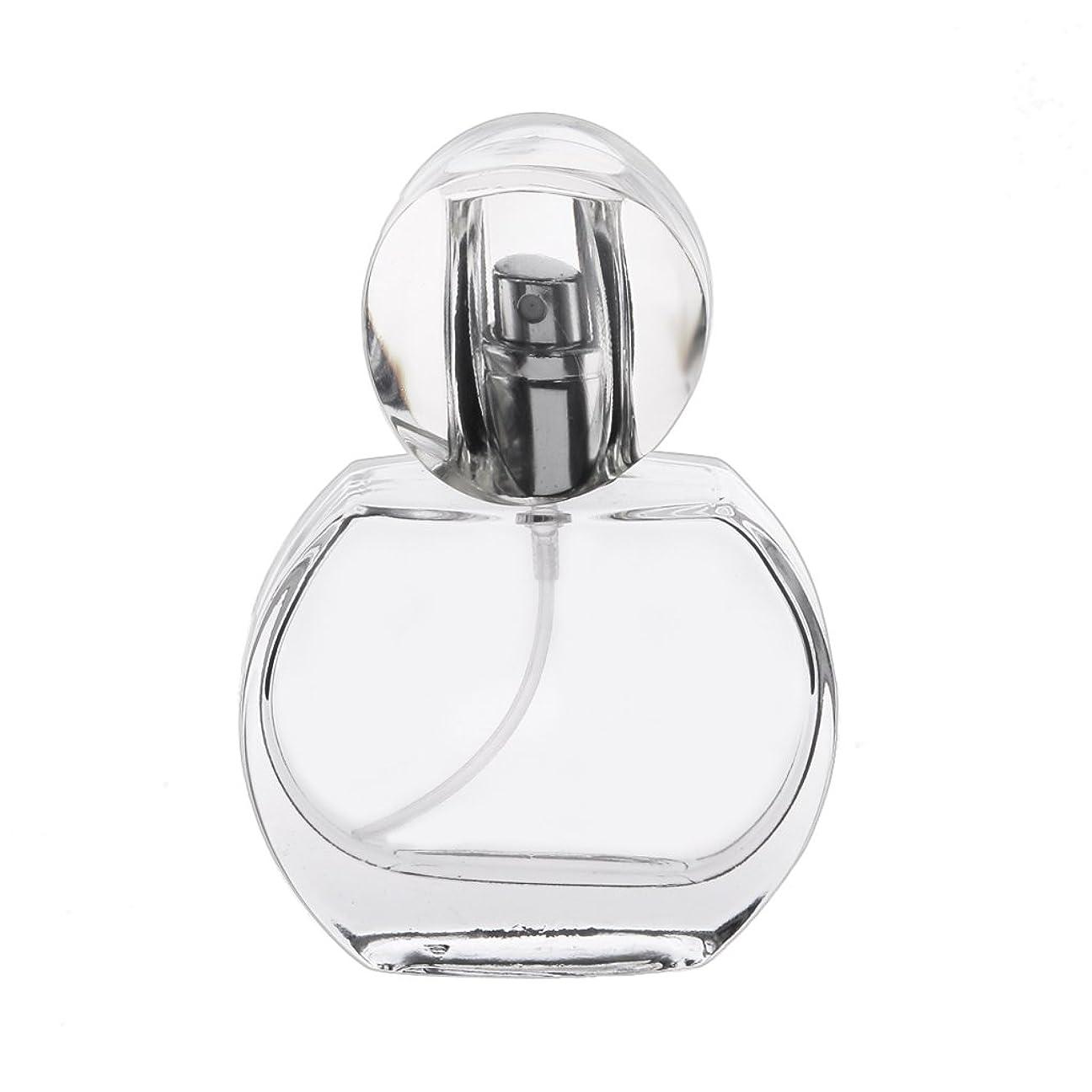 SONONIA  30ml クリスタル エンプティ 空 香水瓶 スプレーボトル アトマイザー 詰め替え 携帯便利