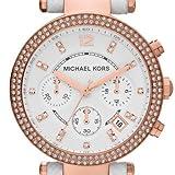 Michael Kors Damen-Armbanduhr Chronograph Quarz Leder MK2281 - 2