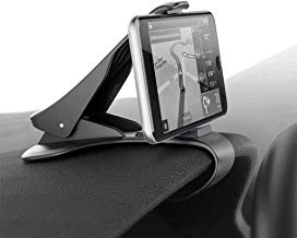 Ociodual Pinza Soporte de Salpicadero de Coche para Movil Universal Car Mount Clip Negro